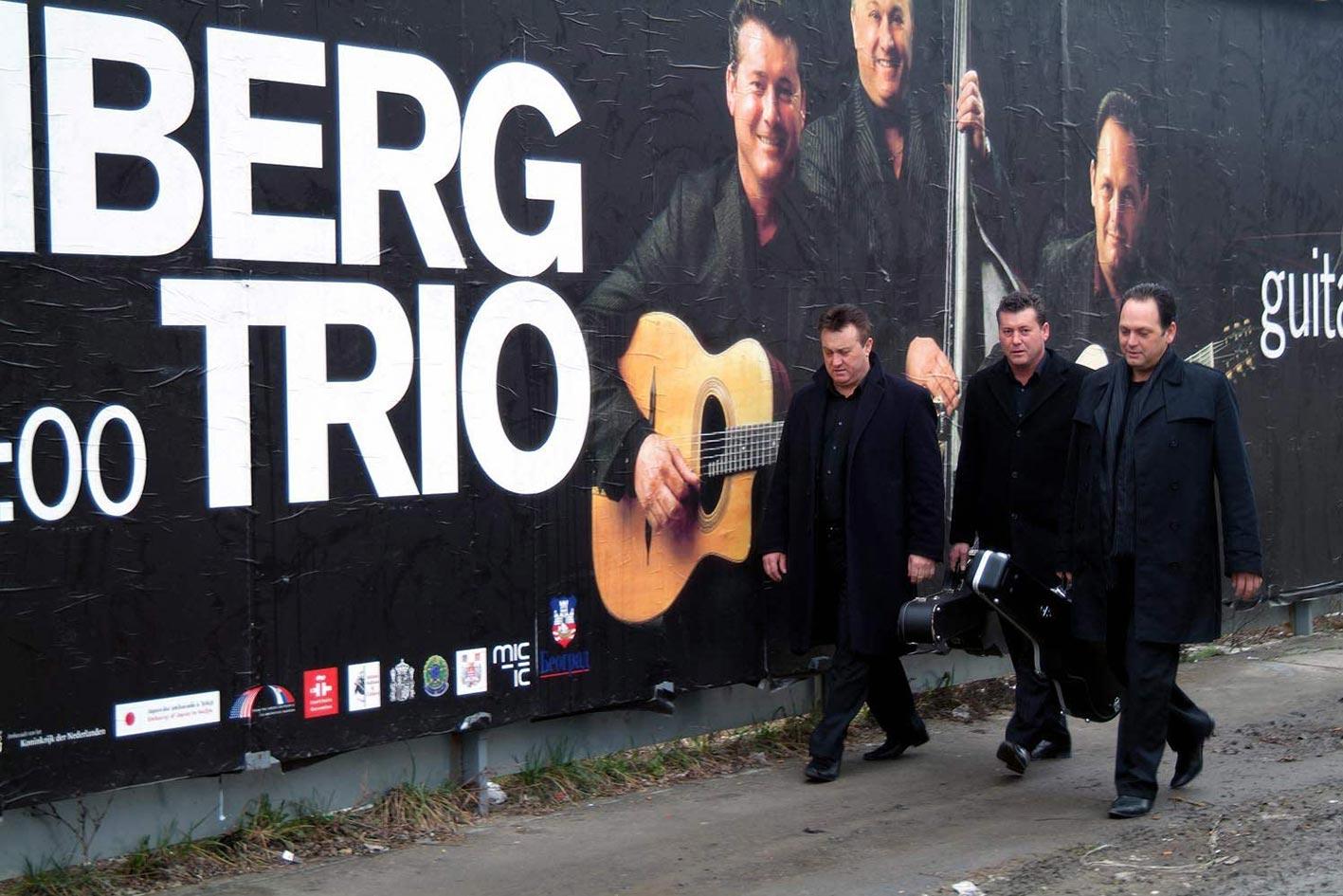 The Rosenberg trio website