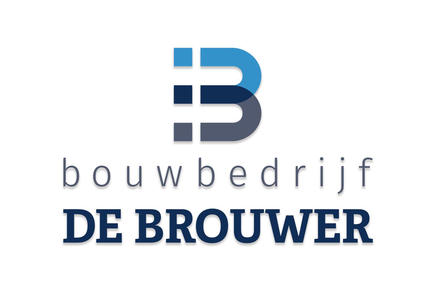 ontwerp logo bouwbedrijf de brouwer