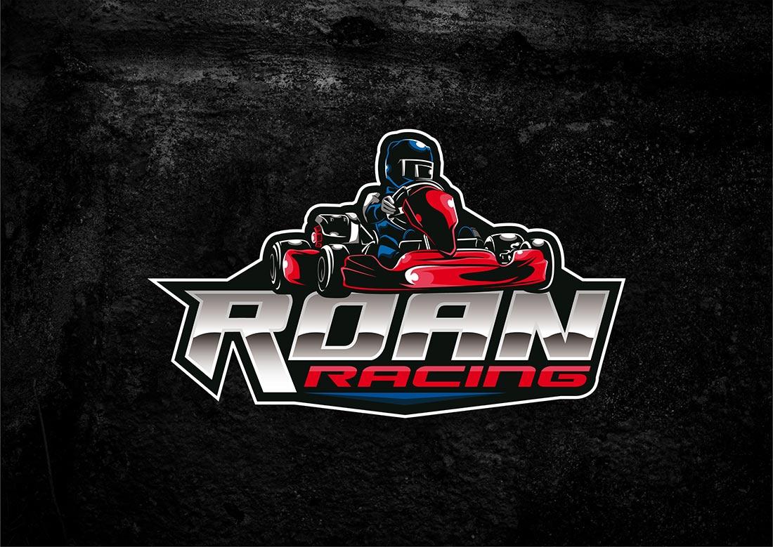 Roan Racing ontwerp logo
