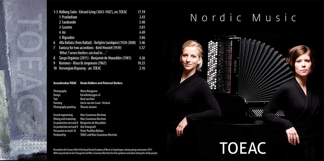 cd artwork Toeac